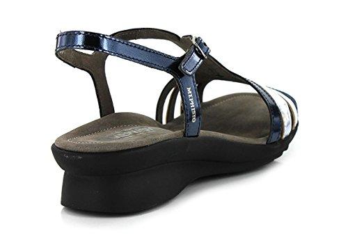 Pour Bleu Femme navy Bleu Mephisto Paolina Marine Sandales w4q6zxEY