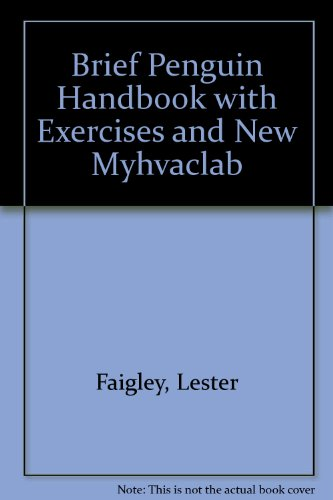 Brief Penguin Handbook with Exercises and NEW MyHVACLab