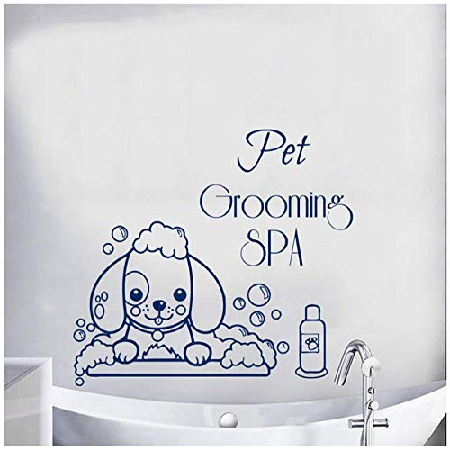 Vinyl-Wall-Decals-Pet-Spa-Wall-Sticker-Inspirational-Quotes-Wall-Art-Living-Room-Bedroom-Decor57x62cm