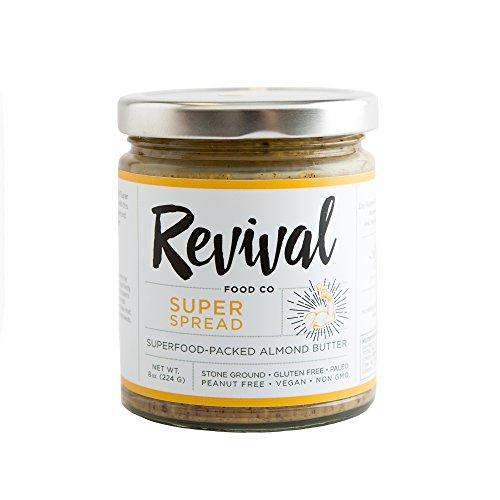 Cheap Revival Food Co Almond Butter Gluten Free, Paleo, Peanut Free, Vegan, Non-GMO (8 oz.) (Super Spread)