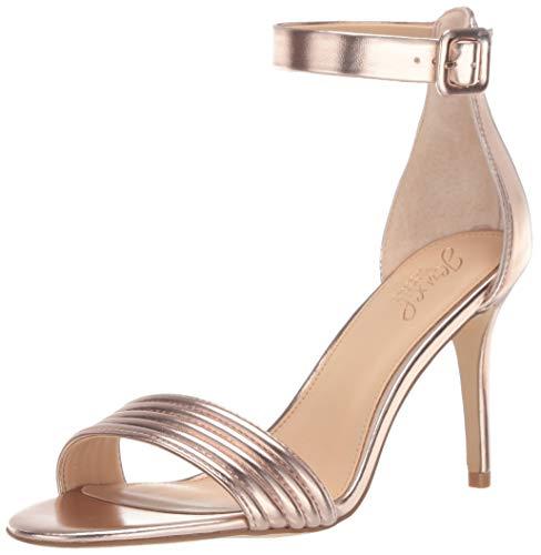 Badgley Mischka Jewel Women's Kristina Heeled Sandal Rose Gold/Metallic 7 M US