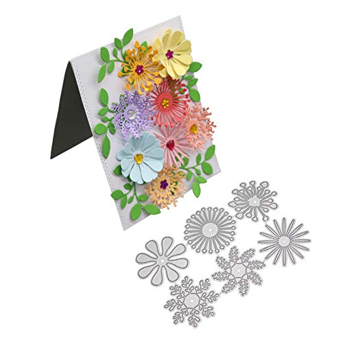 Iusun Merry Christmas & Halloween DIY Metal Cutting Dies Embossing Stencils Scrapbooking Flower Heart Album Paper Card Tool Crafts Gift- Shipping From USA (Multicolor)