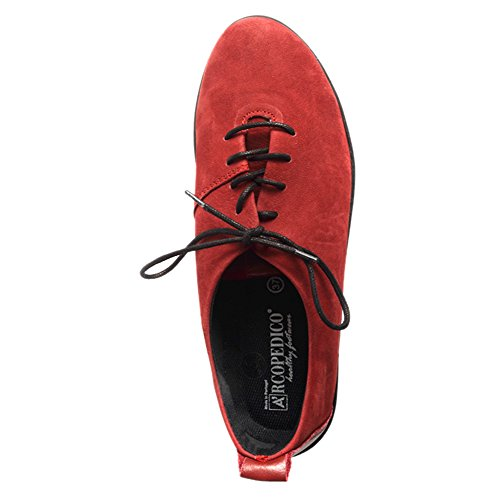 Arcopedico Womens Francesca Oxford Red 2IhDRo1TC
