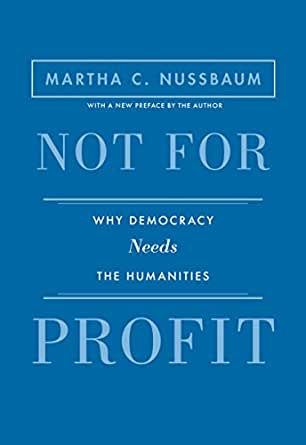 Amazon com: Not for Profit: Why Democracy Needs the