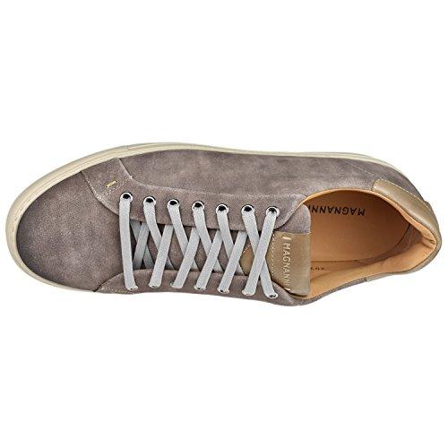 Magnanni Heren Schoenen Blanco Lage Top Sneaker Steen