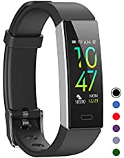 Mgaolo Fitness Tracker with Heart Rate Sleep Monitor,Waterproof Health Activity Tracker with Blood Pressure Monitor for Android and iOS,11 Sport Modes with Pedometer for Men Women Kids