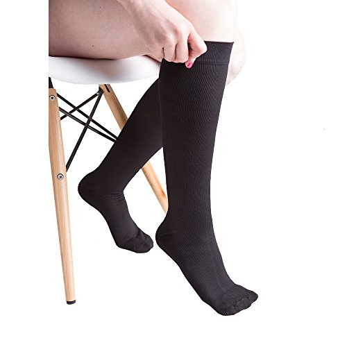 Actifi Women's 15-20 mmHg Compression Socks - Casual, Dress, Travel, Trouser by Actifi (Image #5)