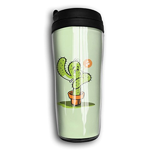 Coffee Mugs, Cactus Shaving Milk Tea Drinking Water Bottle Coffee Mug Carry Hand Cup For Women Men Fathers Day Gifts