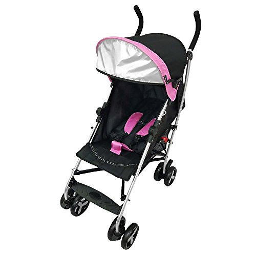 5 Point Harness Reclining Umbrella Stroller - 9