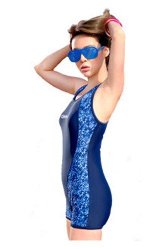 CA Fashion Women's One-piece Short Swimsuit Sport Swimming Bathing Suit