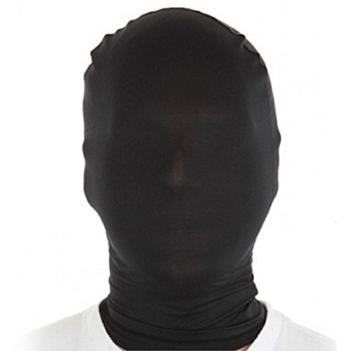 WESTLINK Zentai Mask 2nd Skin Hood Head Full Cover Lycra Spandex -
