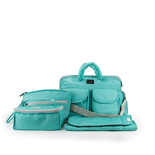7AM Enfant Voyage Bag, Teal, Large by 7AM Enfant
