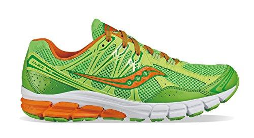 Saucony - Zapatillas de running Jazz para hombre, talla 18, color fango/limón/naranja