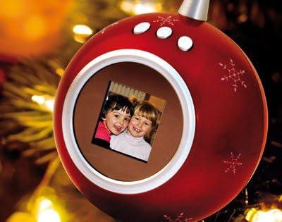 Palla Di Natale Con Foto Digitali.Palla Di Natale Digitale Amazon It Casa E Cucina