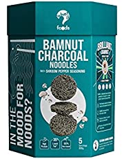 WhatIF Foods BamNut Charcoal Noodles with Shroom Pepper Seasoning (355g, 5 servings)