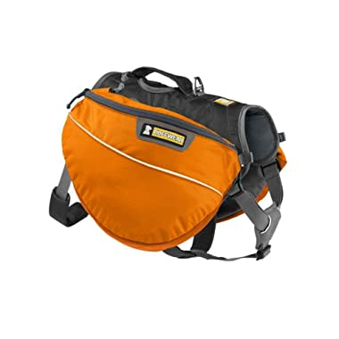 Ruffwear Approach Dog Backpack, Medium, Campfire Orange