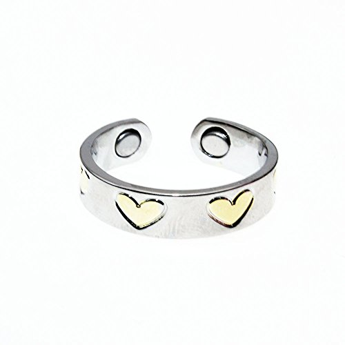 LONGRN-Magnetic Copper Ring adjustable size for Arthritis for Women