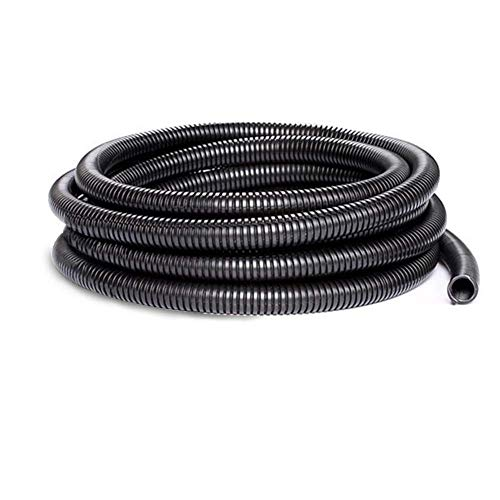 30 FT Dog Cat Cord Protector,Corrugated Tube Conduit,Split Loom TUBING Cover Auto Home Marine(Inner Diameter - Tubing Corrugated Loom Split