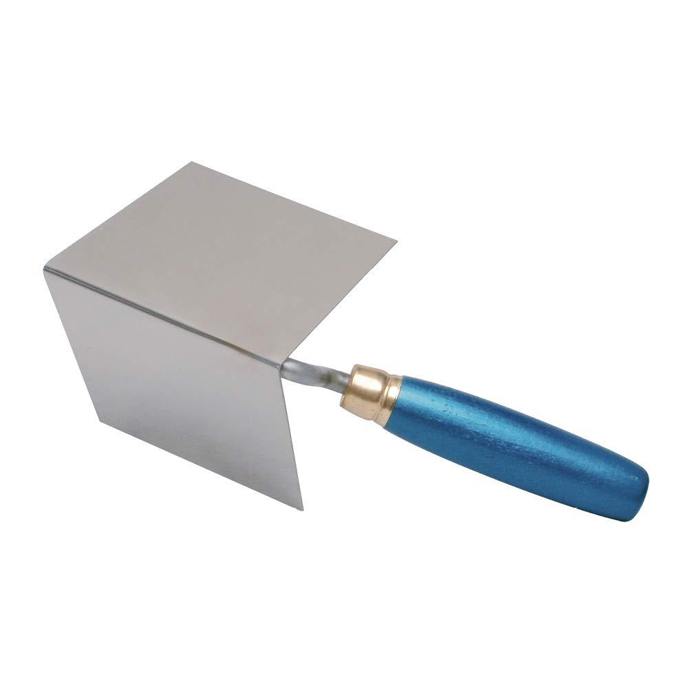 Knauf Inneneck-Spachtel, hochwertiger Eck-Spachtel für Profi-Handwerker und Heimwerker – Eck-Kelle höchster Qualität für saubere 90° Innen-Ecken beim Verspachteln 4695