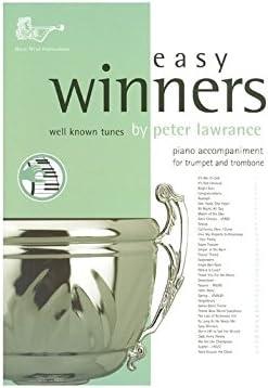 Great Winners Piano Acompaniment for Trumpet /& Trombone Sheet Music Book