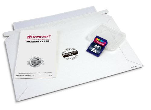 Transcend 8 GB Class 10 SDHC Flash Memory Card (TS8GSDHC10E)