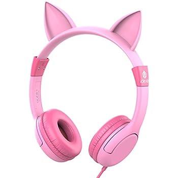 Amazon.com: Kidz Gear Wired Headphones For Kids - Pink