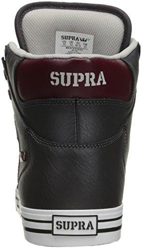 Supra Vaider LC Sneaker Kohle / Port / Weiß