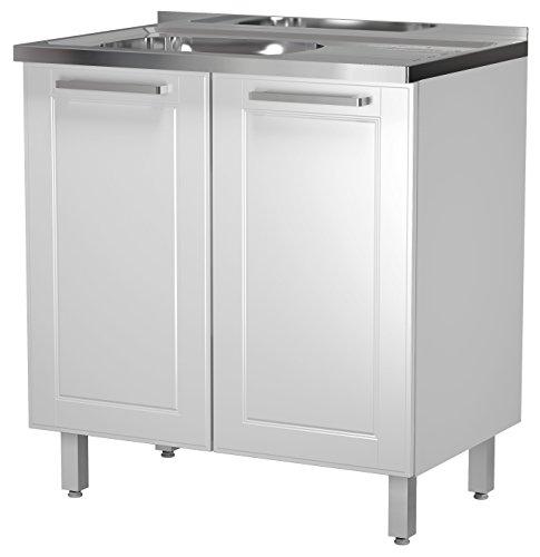Kitchen Cabinet Base Sink (BSK Base Steel Kitchen Cabinet 2 Doors 32