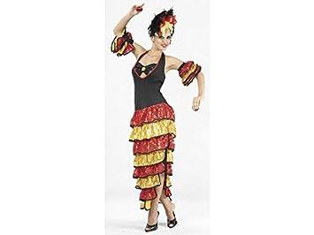 JUGUETILANDIA Disfraz Rumbera Mujer Talla XL
