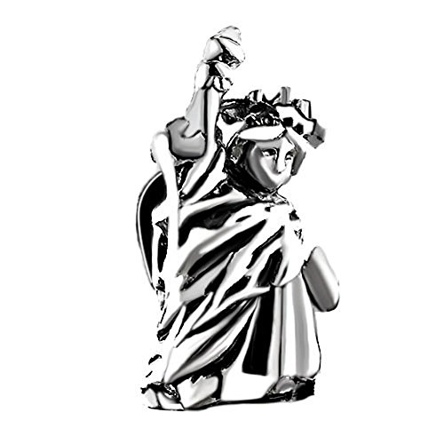 Travel Charms Love New York Statue of Liberty Patriotic Charm Sale Cheap Jewelry Beads Fit Pandora Bracelet