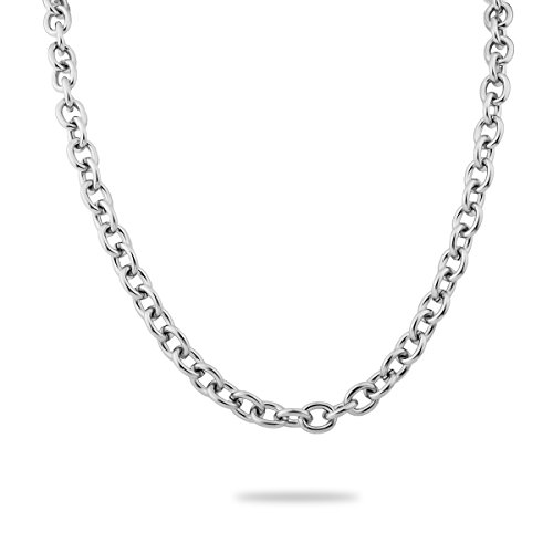- VALYRIA 6.56ft Stainless Steel Links-Opened Cable Chain Necklace Making Jewelry Findings 10mmx8mm