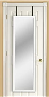 Beautiful Mirrotek DM1448WT Over The Door Mirror, White