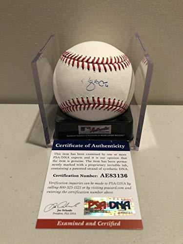 Yadier Molina Autographed Signed RoMLB Baseball St Louis Cardinals MLB Star PSA Coa - Authentic Memorabilia