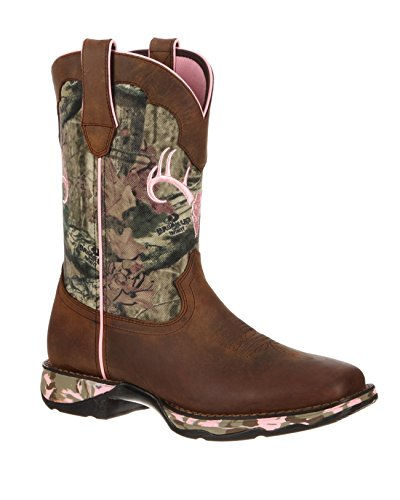 Durango-Lady-Rebel-Women-Round-Toe-Leather-Green-Western-Boot