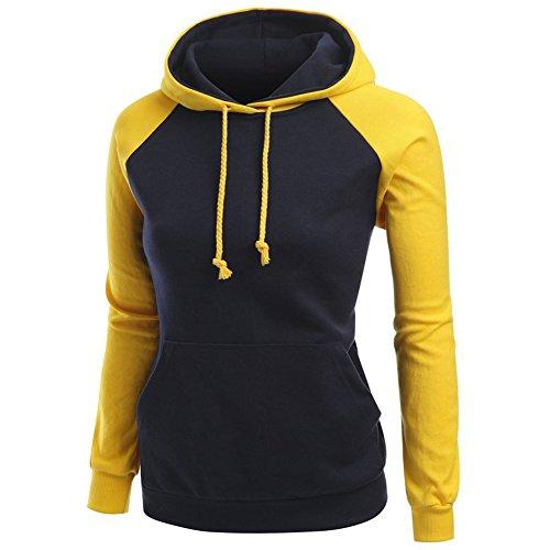 LAFASO Girls Vintage Hoodies Sport Raglan Sleeve Hooded Sweatshirt (Ladies Raglan Hoodie)