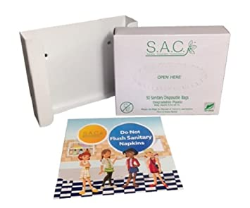 Amazon.com: Sanitary Napkin eliminación bolsas: Health ...