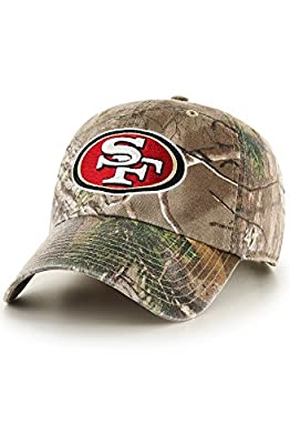 '47 San Francisco 49ers Real Tree Clean Up Dad Hat by '47