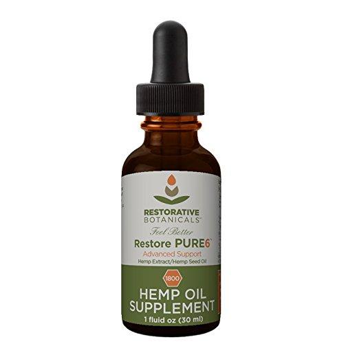Restore-PURE6-Hemp-Oil-Extract-1800-mg-Advanced-Formula-1-ounce-30ml-Restorative-Botanicals