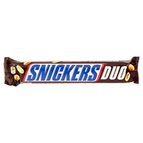 Snickers Duo Bar (83.4g) - Pack of 2