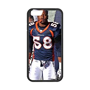 Yearinspace Von Miller by Jeffrey Beall on Flickr IPhone 6 Plus Cases for Women, Iphone 6 Plus Case [Black]