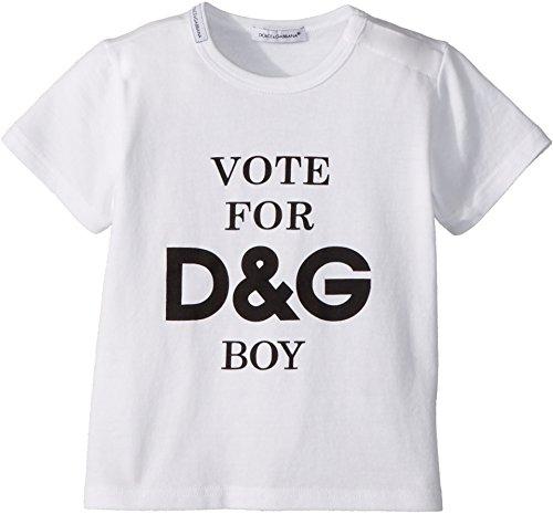 Dolce & Gabbana Kids Baby Boy's T-Shirt (Infant) White Print 24-30 Months by Dolce & Gabbana (Image #1)