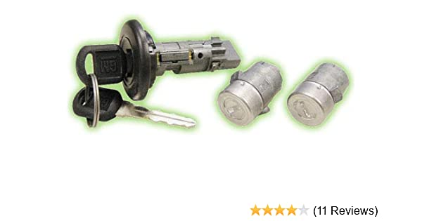 Amazon Com 7012945 Gm Ignition Door Lock Set Coded With Keys Strattec Lock Part Automotive