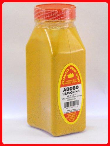 ADOBO SEASONING, FRESHLY PACKED IN LARGE JARS, spices, herbs, seasonings