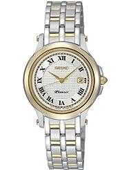 Seiko Womens SXDE02 White Dial Watch