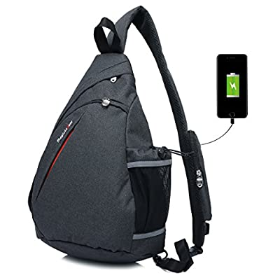 well-wreapped Magictodoor Sling Bag Travel Backpack Wear Over Shoulder or Crossbody