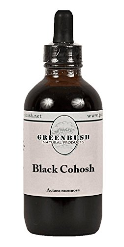 Black Cohosh Alcohol-Free Liquid Herbal Extract. Super Value Size 4oz Bottle (120ml) 240 Doses of 1/2 ml. The top herb for reproductive Health in Women, hot Flashes hormonal and Menopause Symptoms (Best Black Cohosh Product)