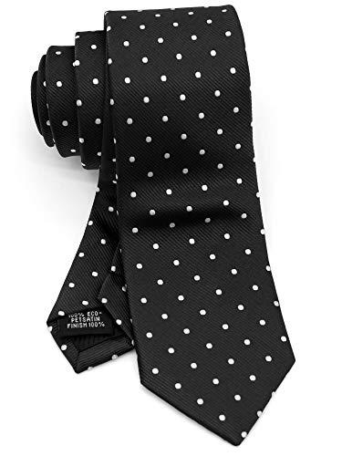 WANDM Men's Slim Skinny Tie Business Necktie width 2.4