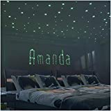 baby girl bedroom ideas Glow Star Kid Bedroom Wall Stickers - 225 PCS Brightest & Biggest Stars (10.5cm) Glow in the Dark - Baby Room Decor for Boy Girl - Kid Room Decoration Wall Art - Decor Idea - Baby Shower Gift Set