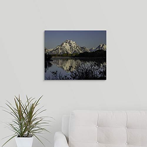 Oxbow Bend Grand Teton National Park Photo Wyoming Printed on Aluminum Metal Ready to Hang Wall Art