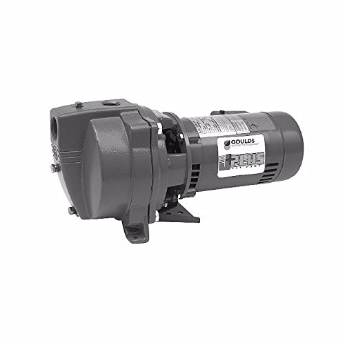 Goulds J5S Shallow Well Jet Pump, 115/230 volt, 1/2 - Well Shallow